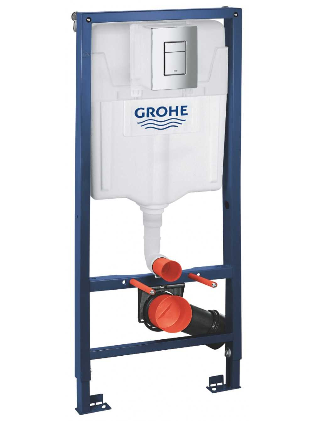 Фото - Grohe 38772001 Rapid SL for WC, 1,13 m, Set 3 in 1