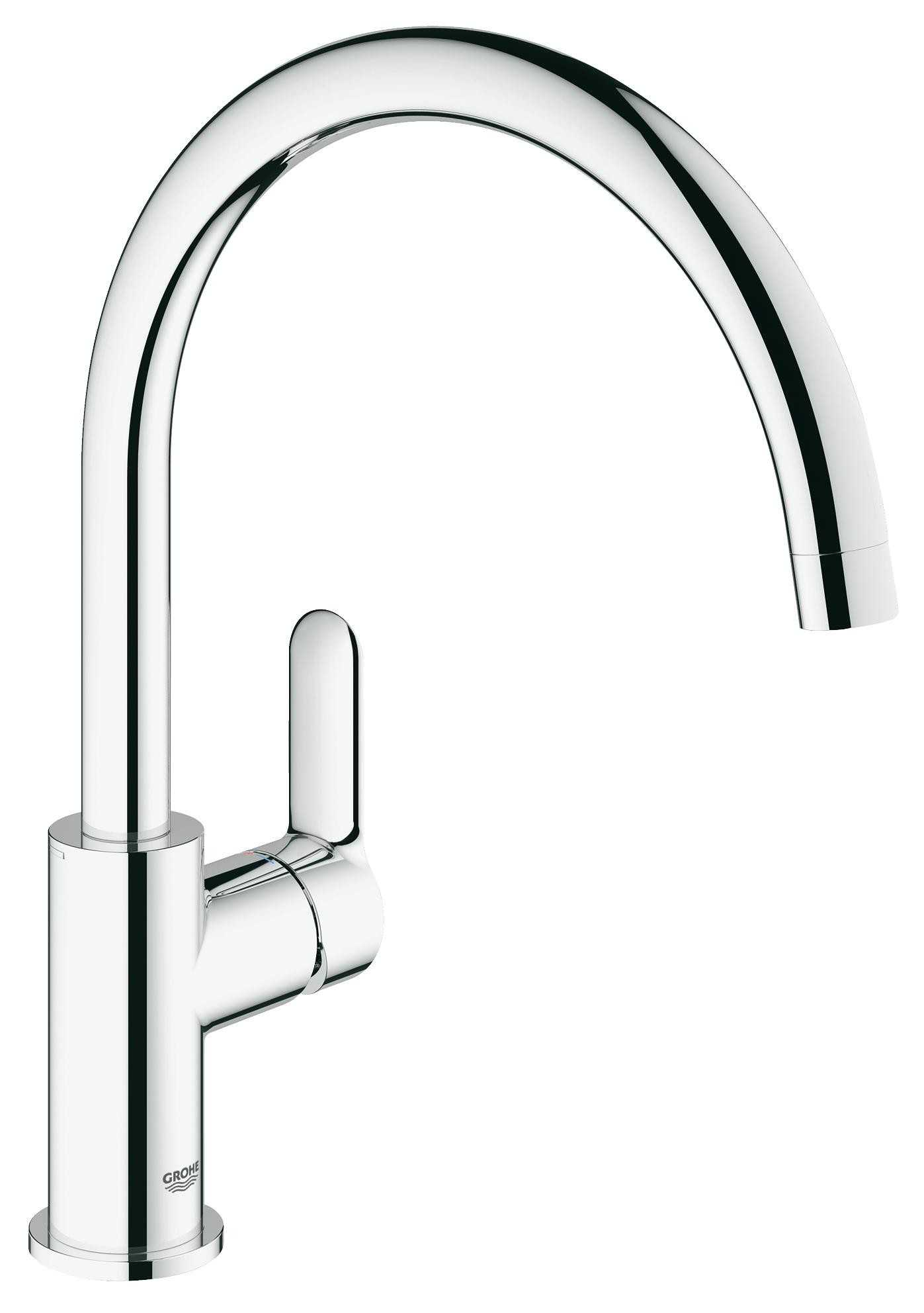 Фото - Grohe 31367000 BauEdge OHM sink swivel spout