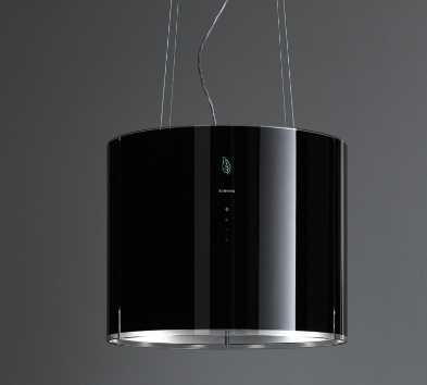 Фото - Falmec EOLO E.ION Isola 45 Black Glass (450)