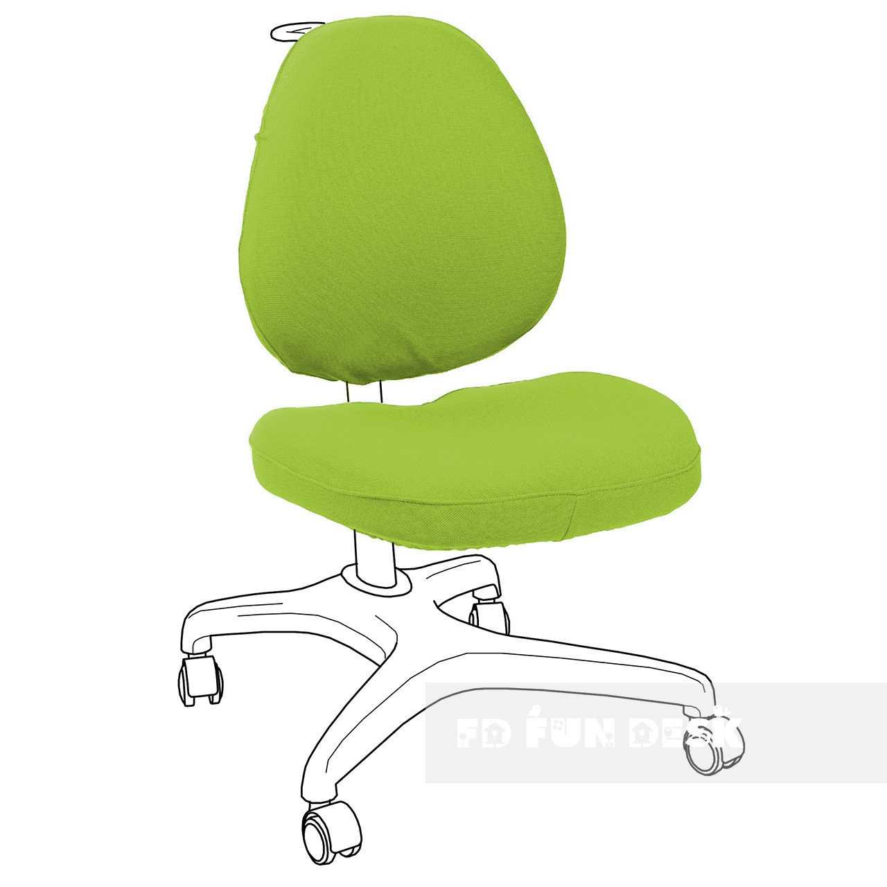 Фото - FunDesk Bello I Chair cover Green
