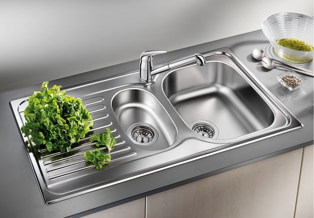 Фото - Blanco TIPO 6S Basic stainless steel 512303